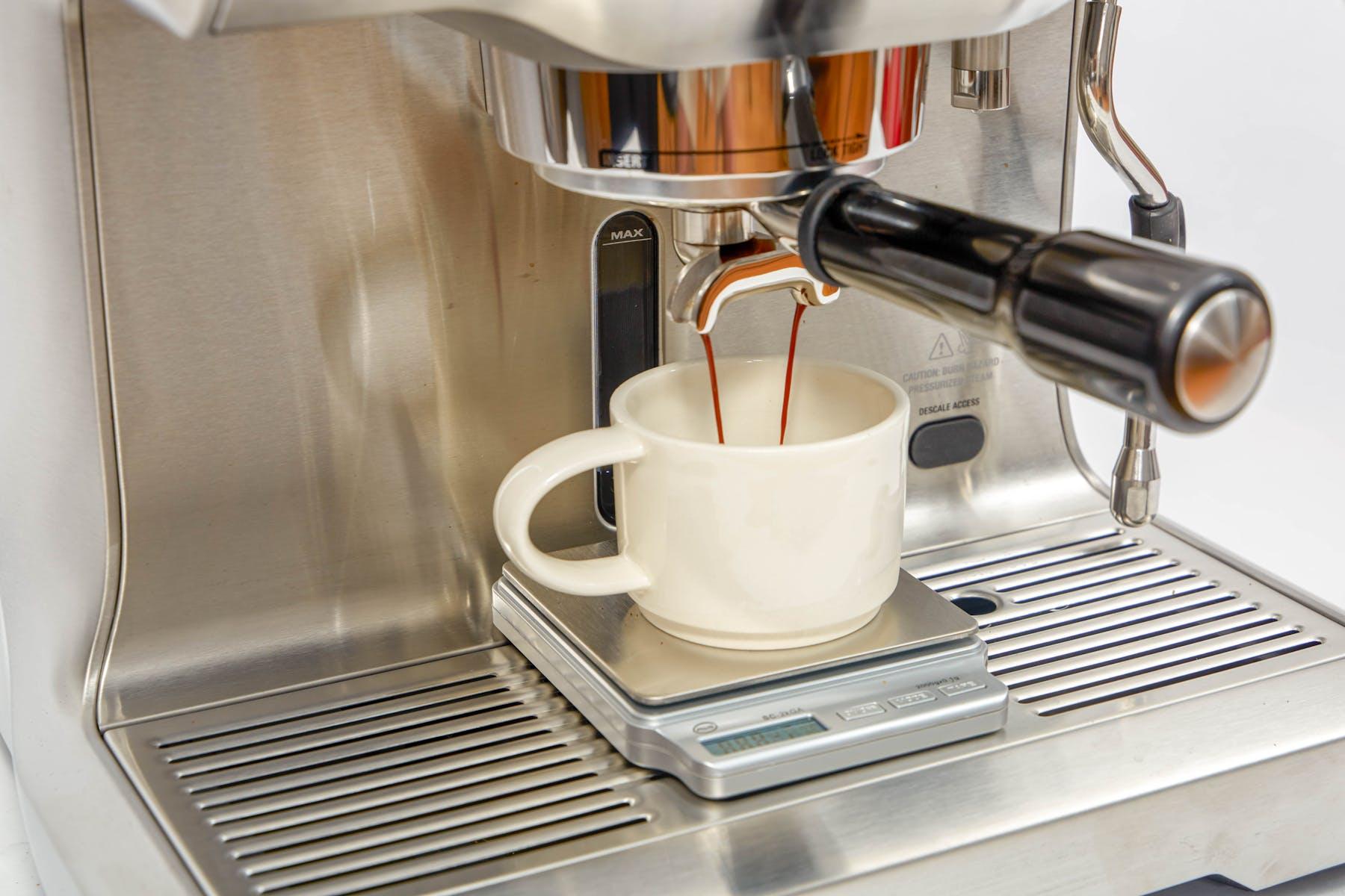 Pull a shot of espresso